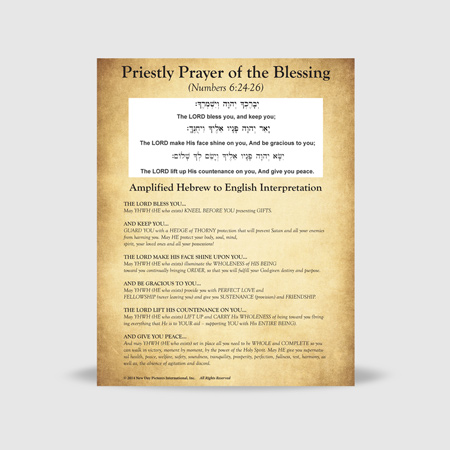 Frameable Prayer Print – 5 Copies